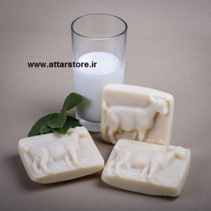صابون شیر بز