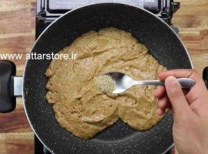 طرز تهیه کوکی گردویی عطاری زعفرانچی